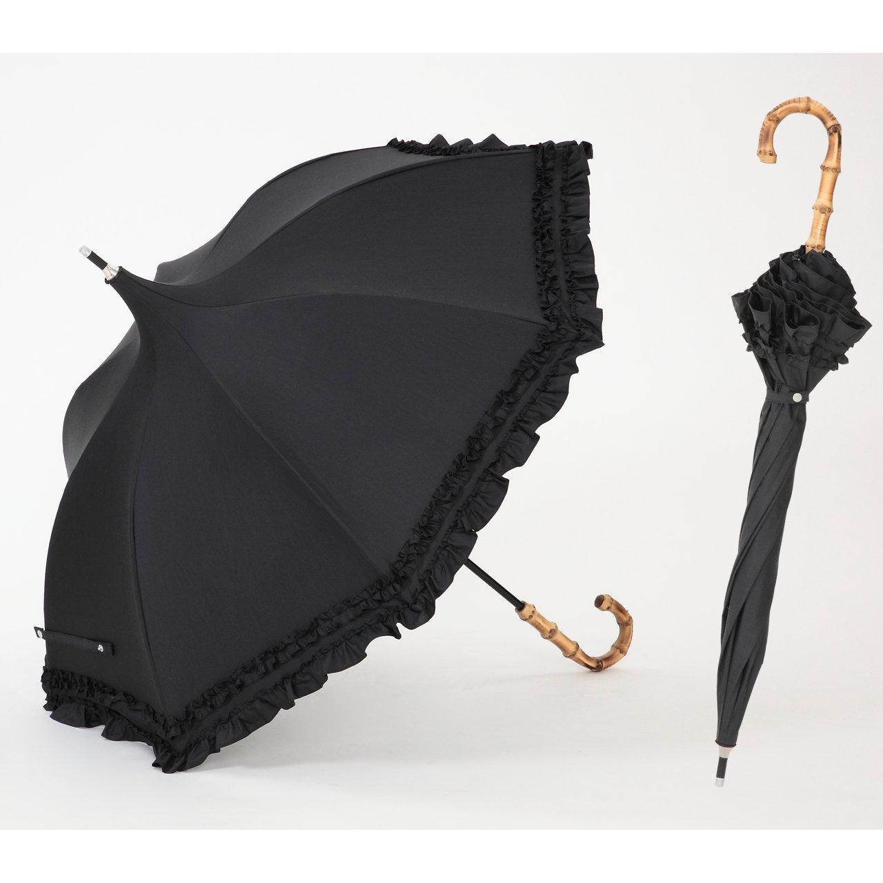 UVカット 遮光1級 日傘/コンパクト長傘 クールプラス パゴダ 晴雨兼用 【LIEBEN-1511】 B00B8NNDNE