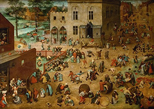 - Pieter Bruegel the Elder: Children's Games. Fine Art Print/Poster. Large Size A1 (84.1cm x 59.4cm)