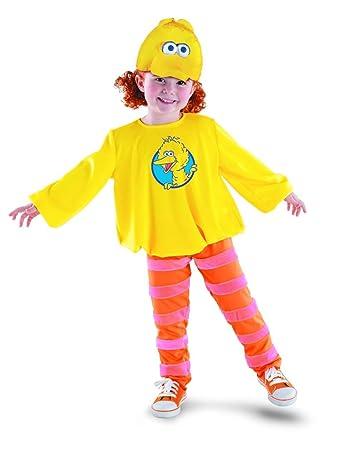 sesame street big bird halloween costume child size 4 6x