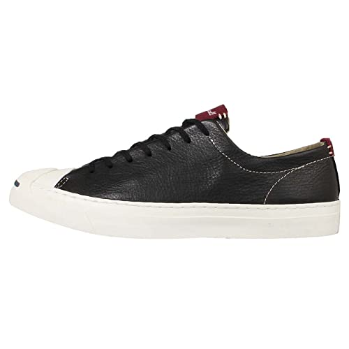 2ce771f56576df Converse Jack Purcell Leather Ox Mens Sneakers Black  Amazon.ca  Shoes    Handbags