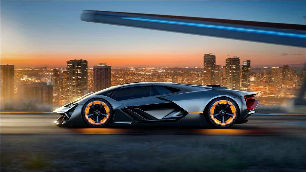 Amazon Com Innerwallz Lamborghini Terzo Millennio Concept Side