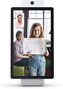 """Portal Plus from Facebook. Smart, Hands-Free Video Calling with Alexa Built-in [15.6"""" Display] – White"""