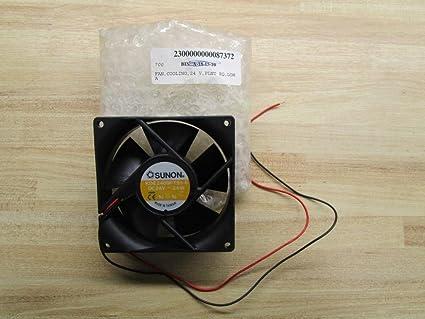 SUNON Ventilador 92 mm 92 x 92 x 25 KDE2409PTS1-6 24 V 3,6 W DC ...