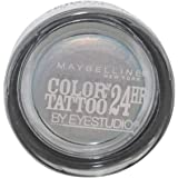 Maybelline Color Tattoo 24 Hour Eyesahdow,40 Seashore Frosts, (Pack 1) by Maybelline