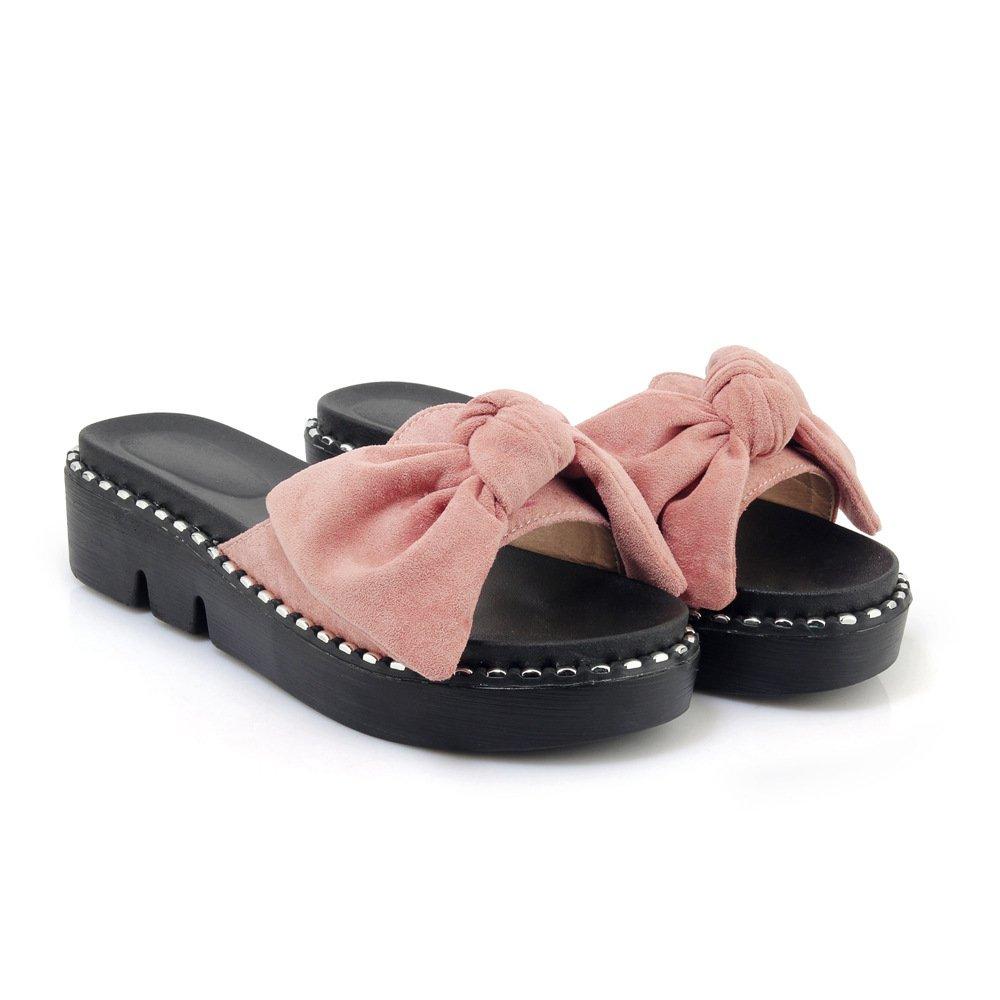 Sandales 11905 décontractées pour Femmes, Chaussures Sandales à B008E005IA Talons, Pantoufles Rose 655f129 - robotanarchy.space