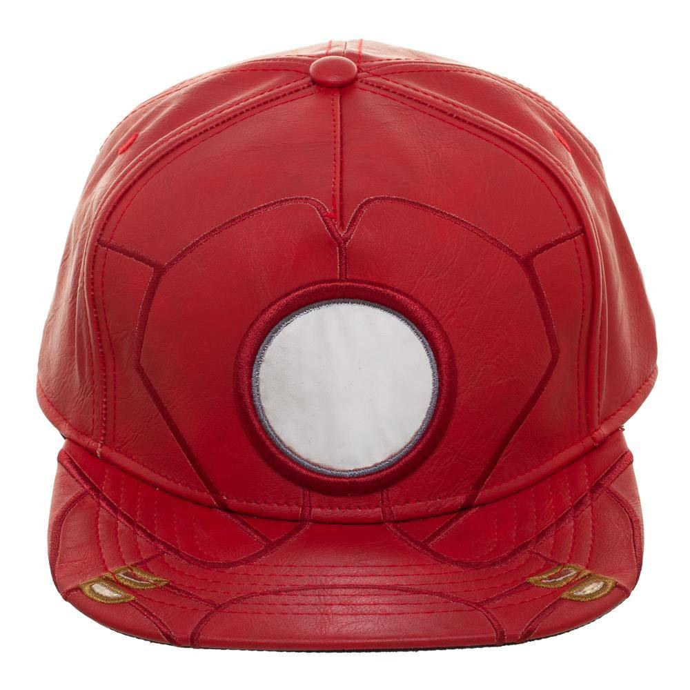 brand new 71b41 67b69 Amazon.com  Marvel The Avengers Iron Man Snapback Hat  Clothing