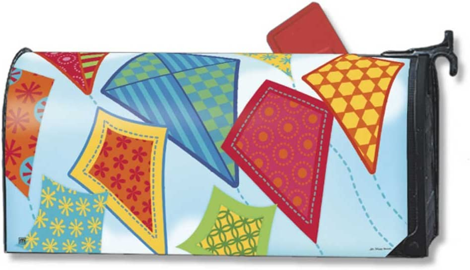 MailWraps Flying Kites Mailbox Cover