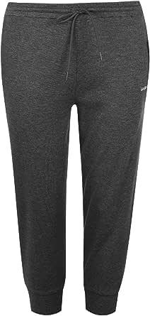 LA Gear Womens Three Quarter Interlock Jogging Pants