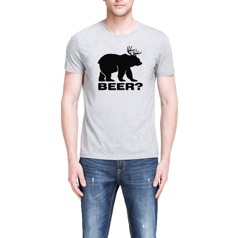 Loo Show Papa Beer Bear Casual Funny T Shirts Tee