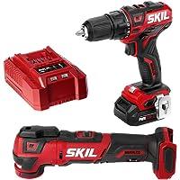 Deals on SKIL 2-Tool Kit Drill Driver, Oscillating MultiTool, Battery