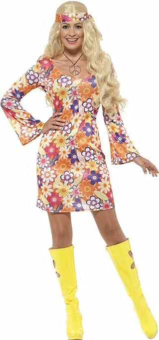 hippy kostüm damen kleid
