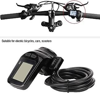 Wosume Controlador LCD de Bicicleta, Controlador de Motor sin ...