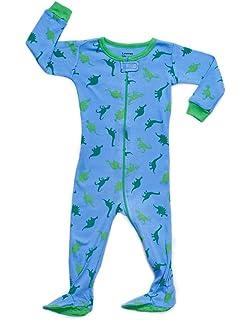 cb8d2d1ca Amazon.com  Elowel Baby Boys Footed Shark Pajama Sleeper 100% Cotton ...