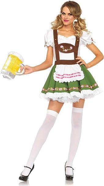 Amazon.com: Leg Avenue – Disfraz de Oktoberfest Sweetie de ...
