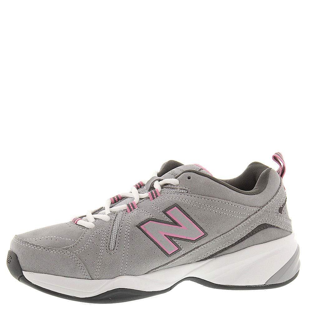 New Balance Women's WX608v4 Grey/Pink 12 AA US by New Balance (Image #4)