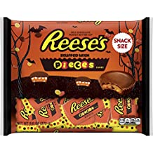 REESE'S PIECES Halloween Snack Size Peanut Butter Cups, 9.6 Ounce
