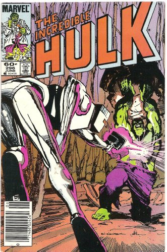 The Incredible Hulk #296 (To Kill Or Cure!)