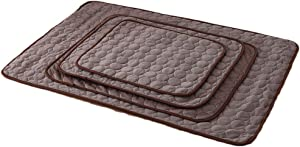 Nesutoraito Washable Summer Cooling Mat for Dogs Cats Kennel Mat Breathable Pet Crate Pad Cusion Sleep Mat for Carrier Bag Dog Self Cooling Mat