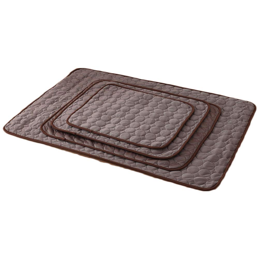 Chaoguang Nesutoraito Washable Summer Cooling Mat for Dogs Cats Kennel Mat Breathable Pet Crate Pad Cusion Sleep Mat for Carrier Bag Dog Self Cooling Mat