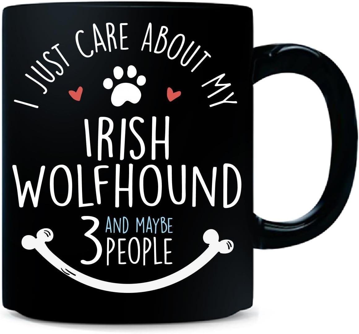 Cute funny gifts for Irish Wolfhound dog owners lovers! Irish Wolfhound Mum Mug