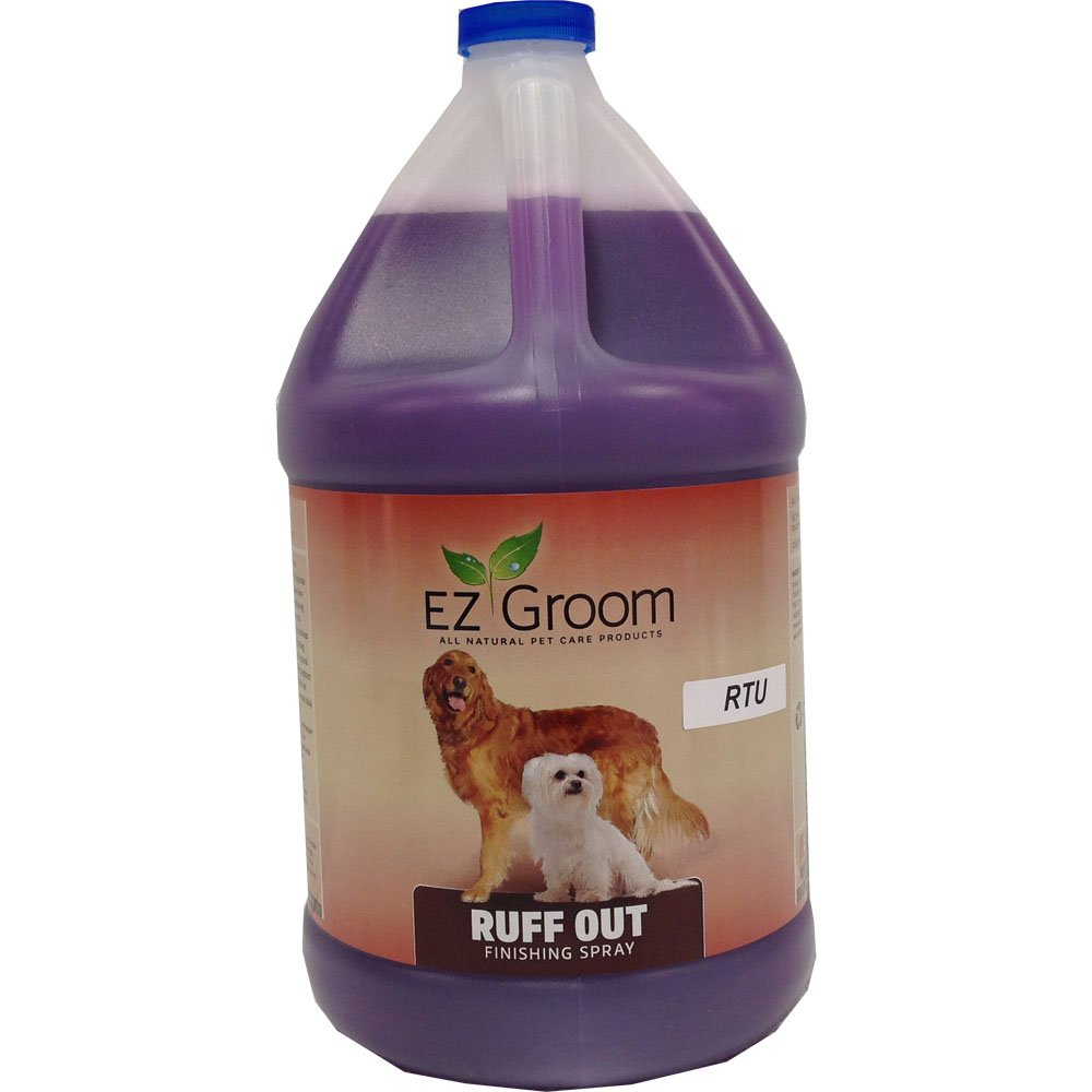 EZ Groom Ruff Out Finishing Spray Gallon - Ready To Use