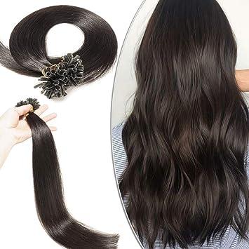 Pose de cheveux a la keratine