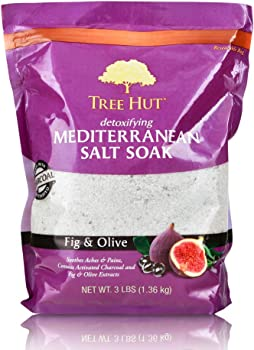 Tree Hut 3Ibs Detoxifying Mediterranean Salt Soak Fig & Olive