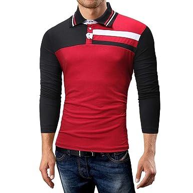 a5d215aba3504f YunYoud Herren Herbst Casual Button Stripe Pullover Langarm Shirt Top Bluse  Tee Herrenhemden kaufen Karohemd Herren Kariertes Hemd Baumwollhemd Hemden  ...