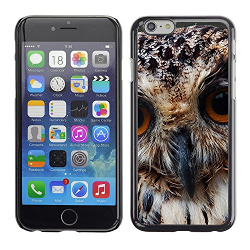 """Premio Sottile Slim Cassa Custodia Case Cover Shell // V00003684 hibou prédateur close up // Apple iPhone 6 6S 6G 4.7"""""""