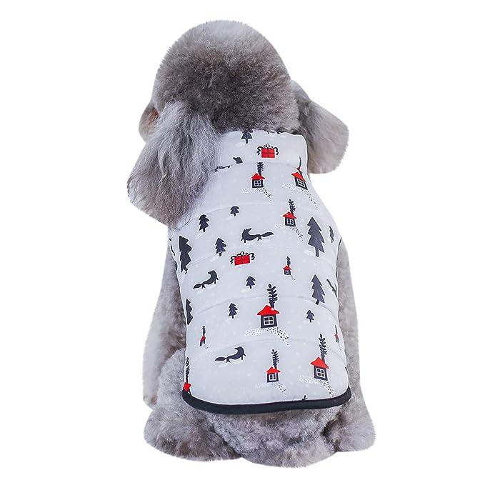 Amazon.com: Weite Pet Supplies - Ropa de Navidad para ...