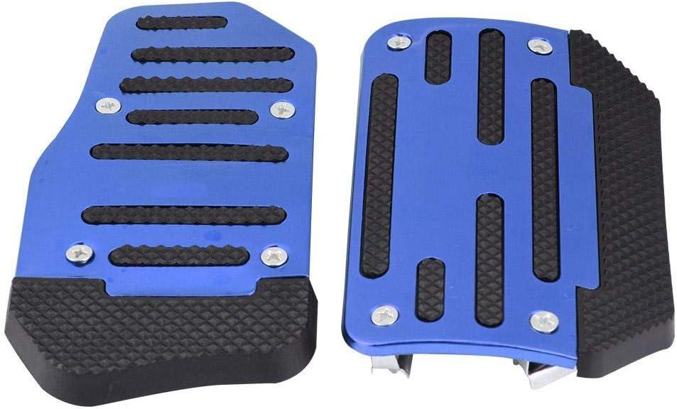 Acc/él/érateur Pad Cover Bleu alliage antid/érapant Accelerator Pad Cover Couvre p/édale de frein pour v/éhicules automatiques /à voiture