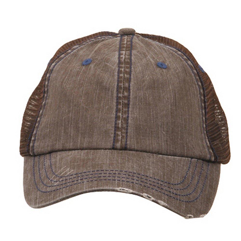 c096465c22e MG Low Profile Special Cotton Mesh Cap-Aqua at Amazon Men s Clothing store