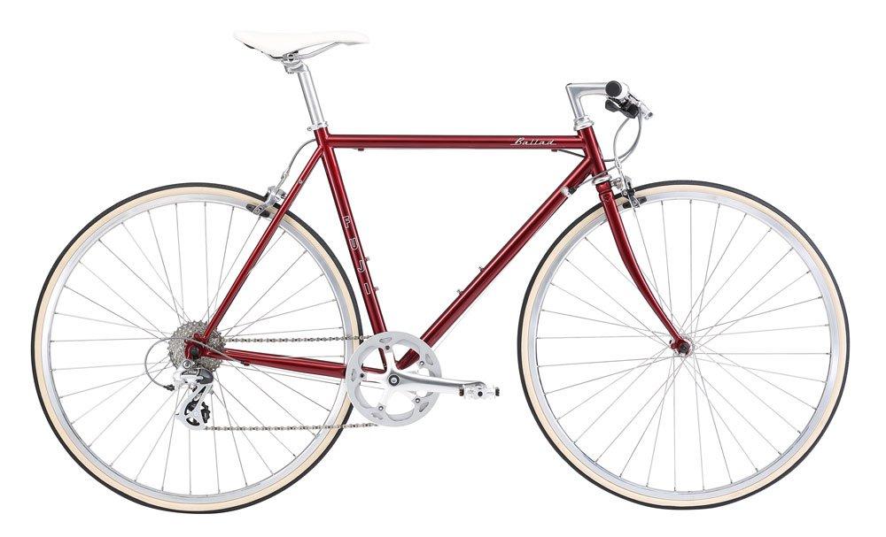 FUJI(フジ) BALLAD 56cm 8speed BORDEAUX クロスバイク 2018年モデル 18BALDBD BORDEAUX 56cm B075SZ1GZG