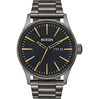 Armband Erwachsene Nixon Uhr Edelstahl Mit Unisex Quarz Digital LVjSUGqzpM