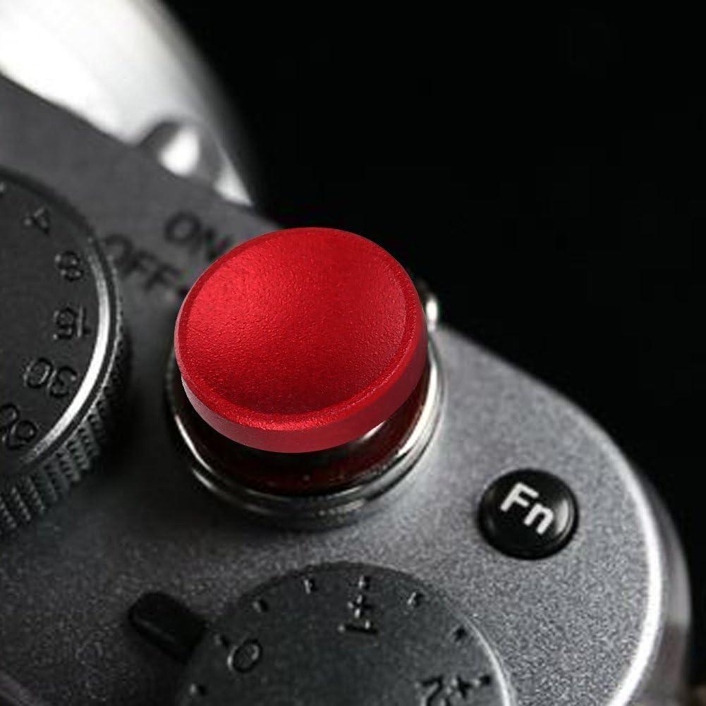 4Pcs Durable Practical Aluminum Alloy Concave Shutter Release Button for Fujifilm X100 X100S X10 X20 Shutter Release Butto