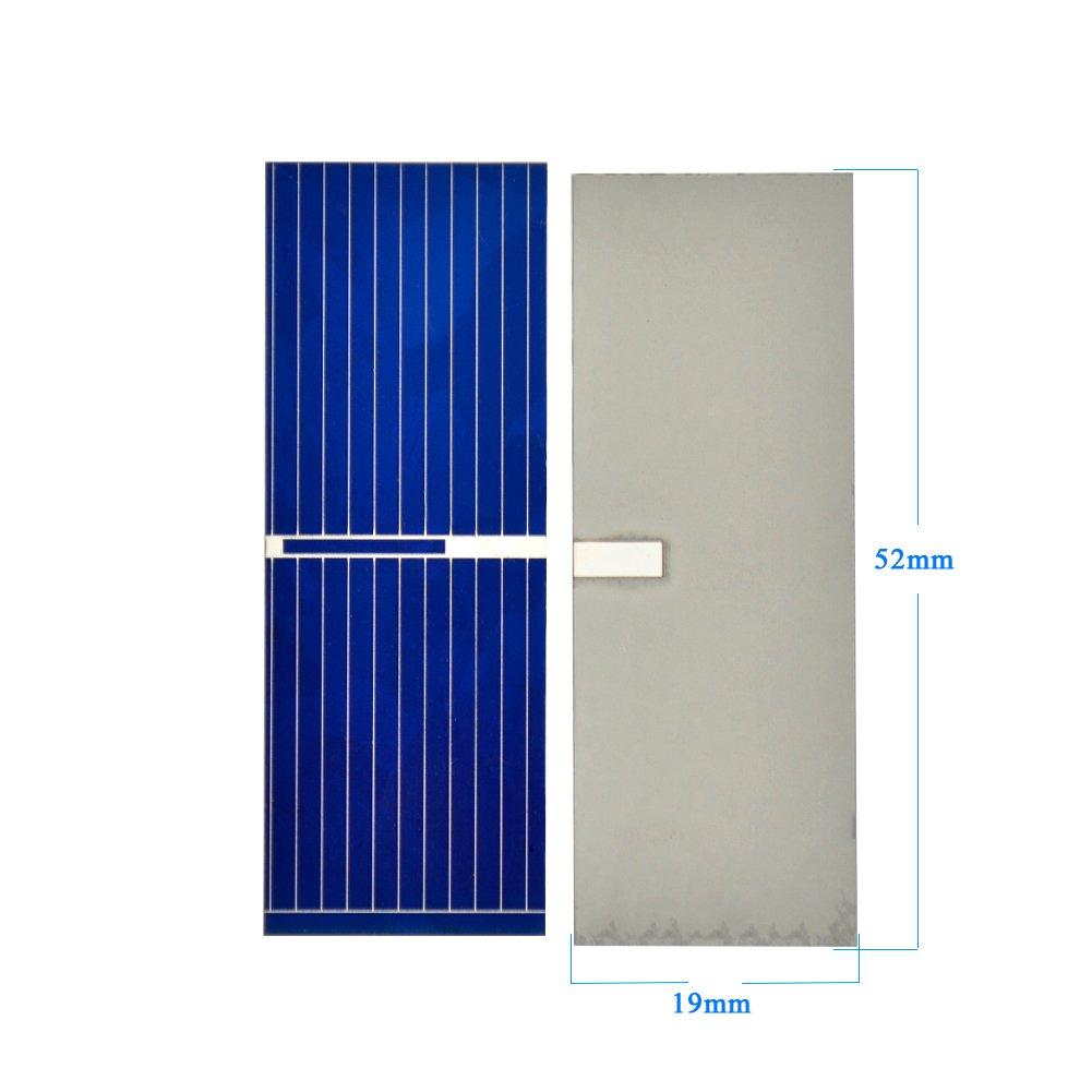 Amazon.com: AOSHIKE 100pcs 0.5V Micro Mini Celda Solar para ...