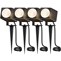 4-Pack MustWin 10W Landscape Pathway Lights