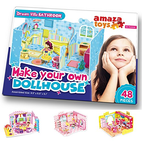 Make Your Own Dollhouse - 3D Puzzle Play Set - Ideal for sale  Delivered anywhere in USA