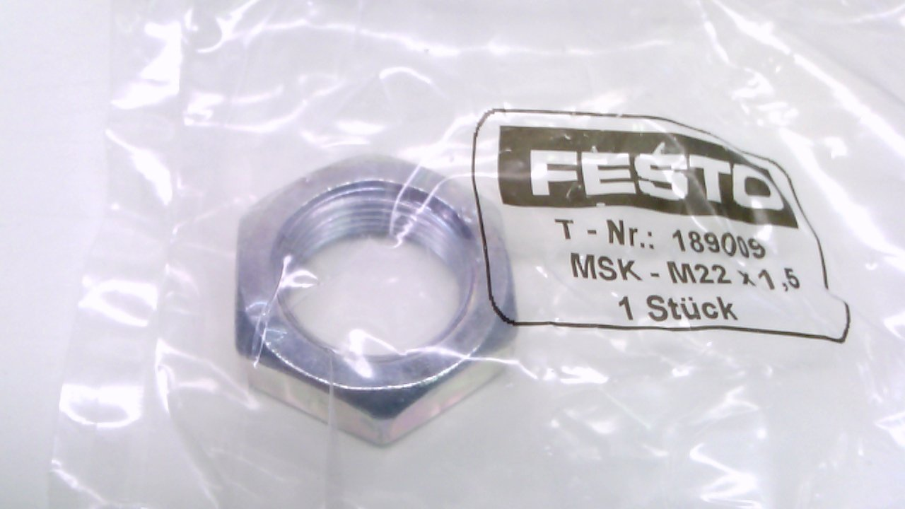 Festo 189009 - Pack Of 11 - Hex Nut, M22 X 1, 5, 189009 - Pack Of 11 -: Amazon.com: Industrial & Scientific