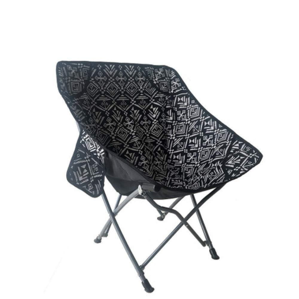 LIUQIAN Chaises de Camping Chaise Pliante d'extérieur accoudoir arrière Ultra-léger pour la pêche