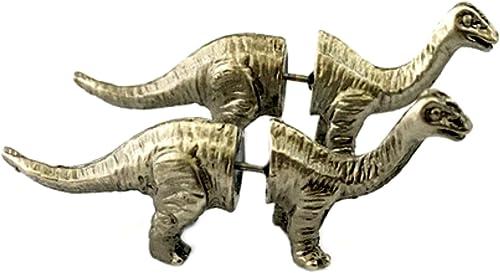 Amazon.com: Brontosaurio dinosaurio Post Stud arete ...