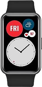 "HUAWEI Watch Fit - 1,64"" Vivid AMOLED Sherm - Workout Animaties - Batterijduur van 10 Dagen - Graphite Black"