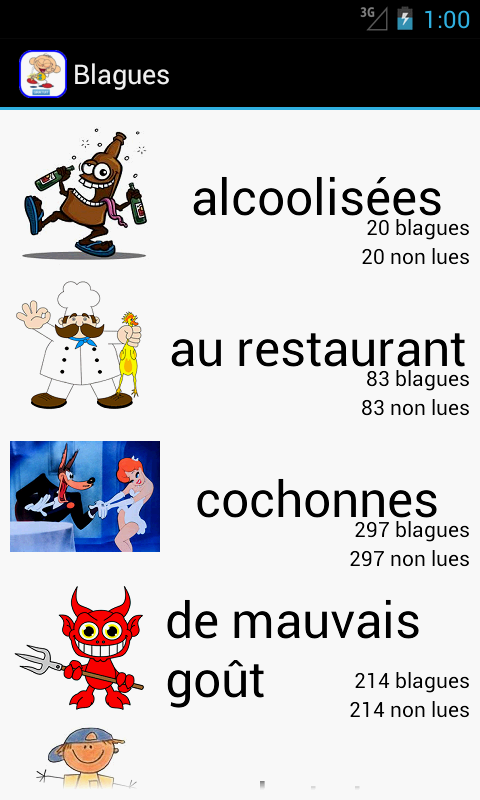 Amazon.com: Jokes in french: Appstore for Android