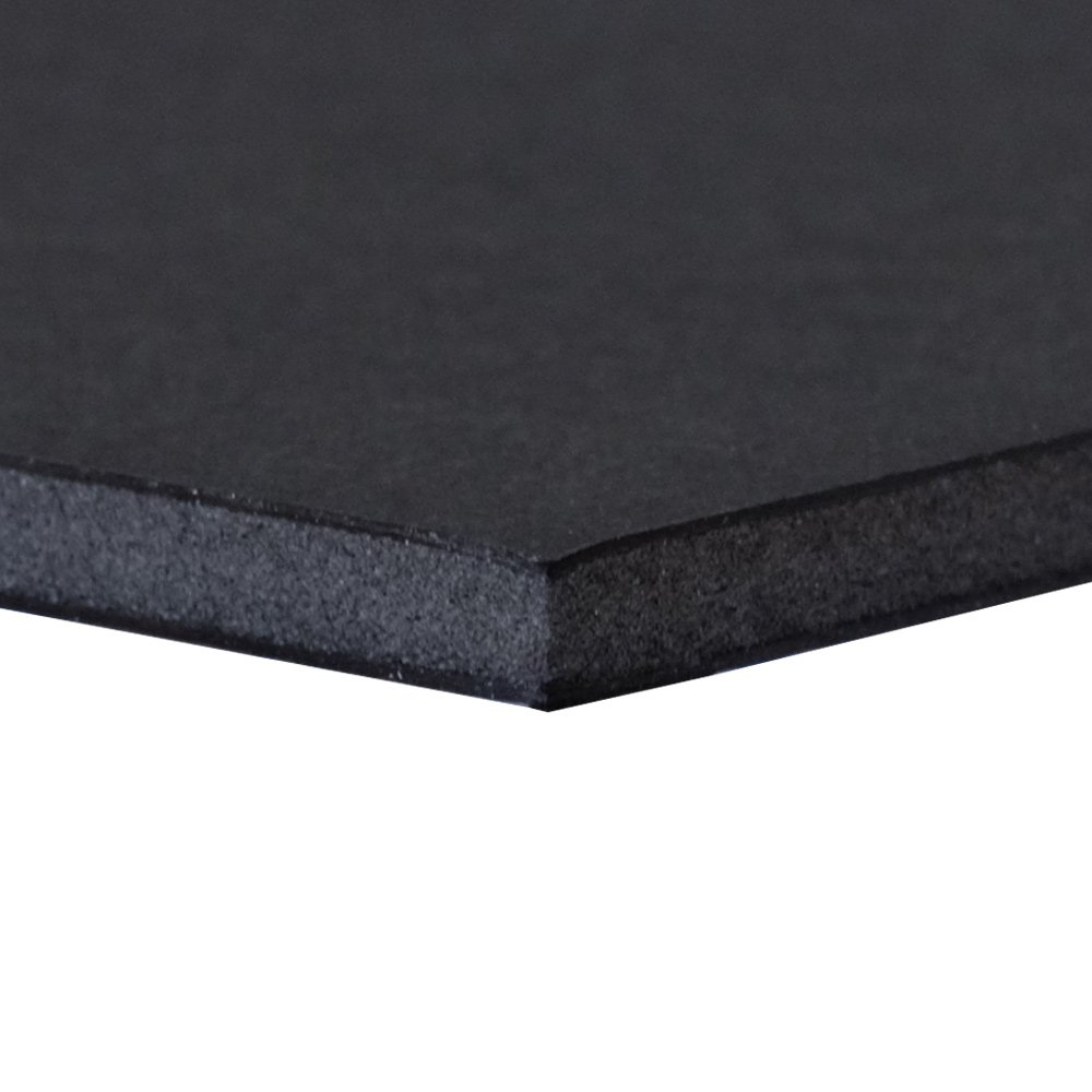 Black 48 x 96 in. Foam Board