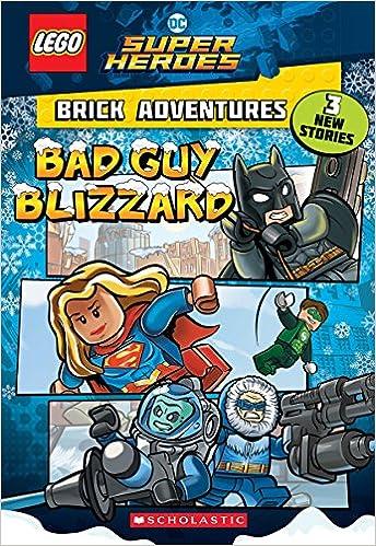 Amazon.com: Bad Guy Blizzard (LEGO DC Comics Super Heroes: Brick ...