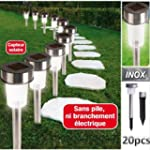 ProBache - Set de 20 bornes lampes so...