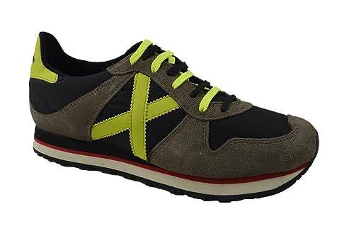 Zapatillas Munich Massana Gris/Neón 45 Gris: Amazon.es: Zapatos y complementos