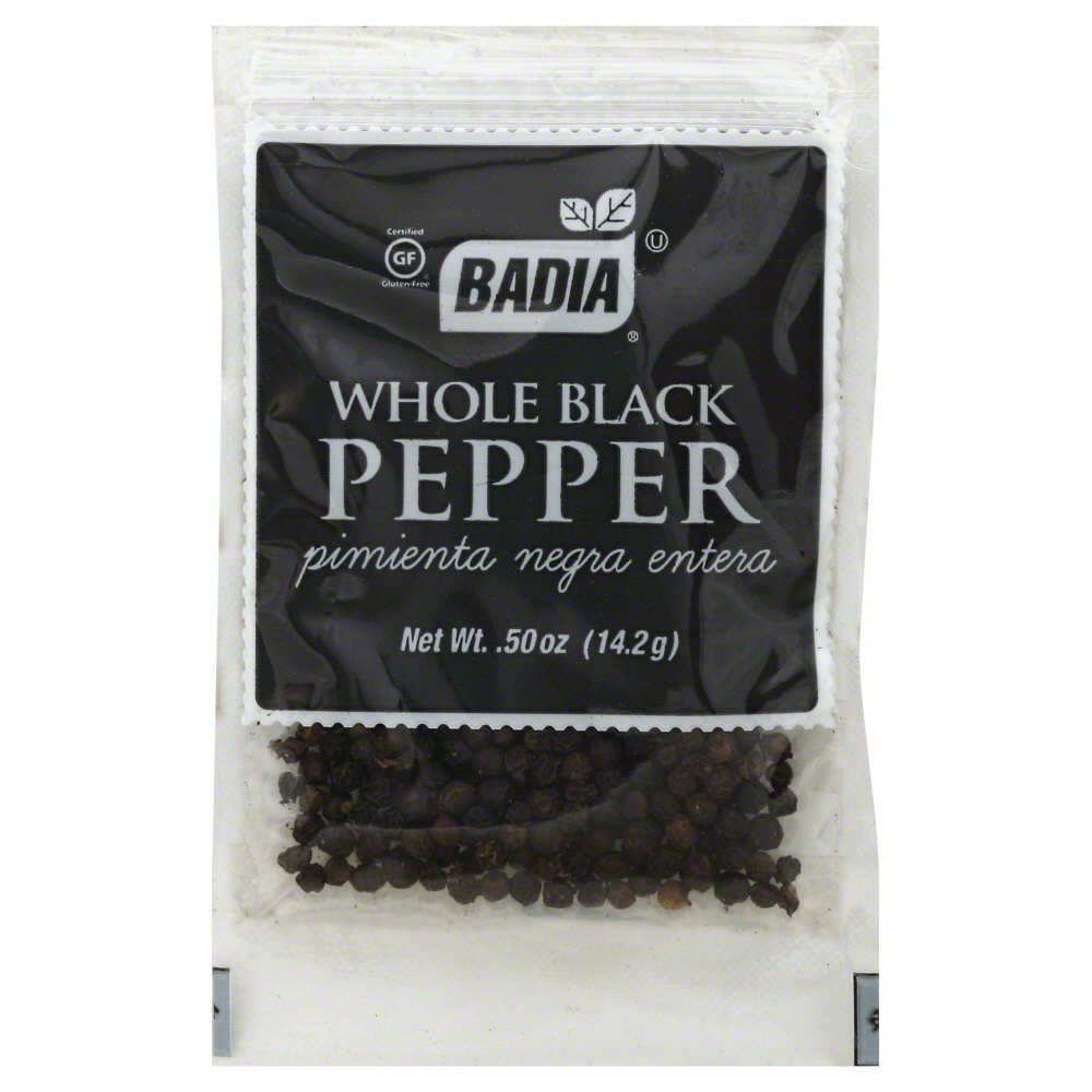 Badia Whole Black Pepper (Pack of 3)