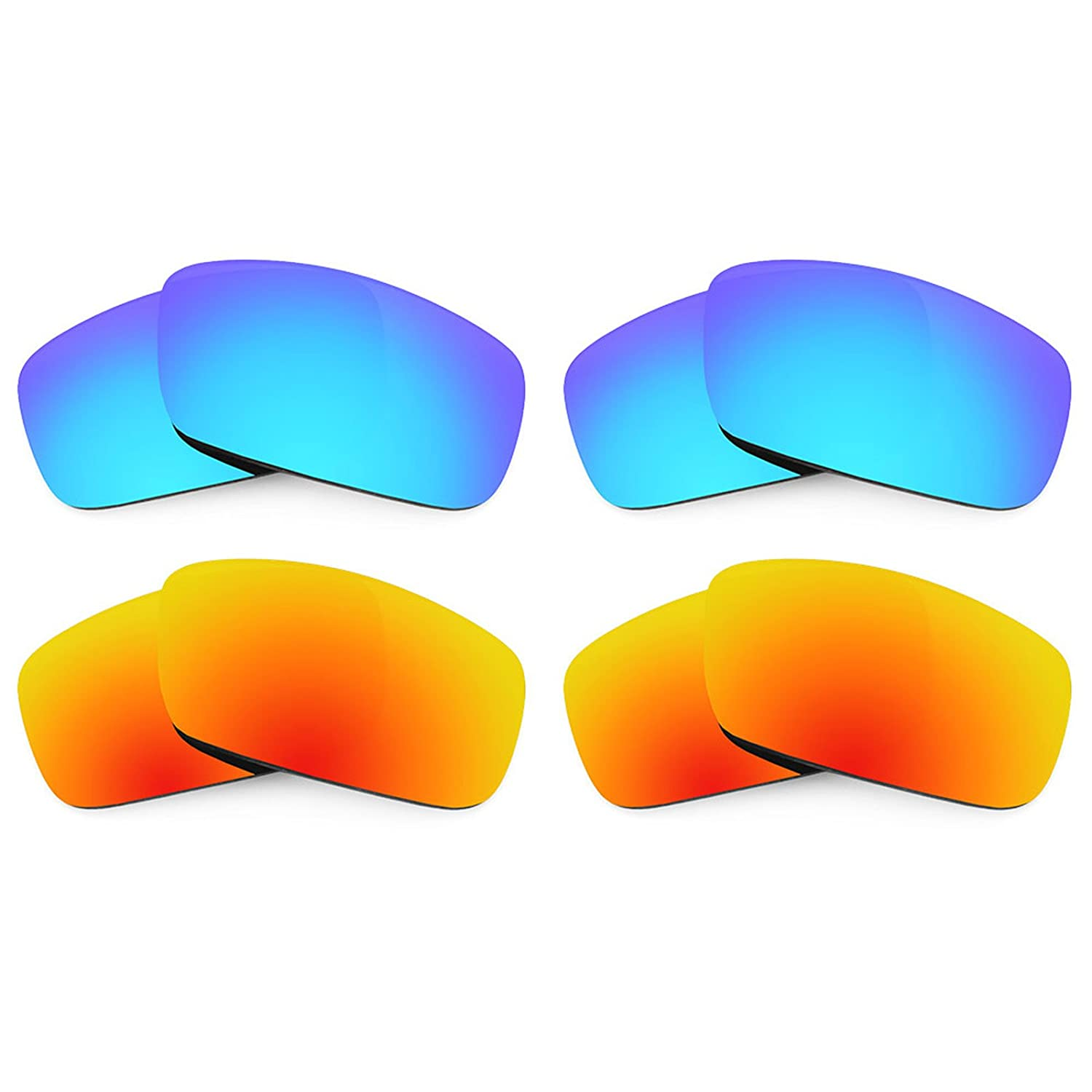 Revant Replacement Lenses for Spy Optic Logan 4 Pair Combo Pack K022