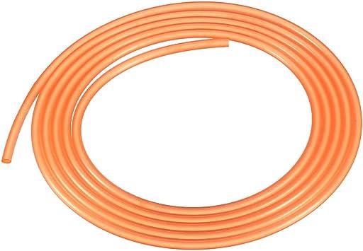 Rund Treibriemen Übertragungsriemen PU Hochleistung Urethan 60 Inch Lang 3mm Rot